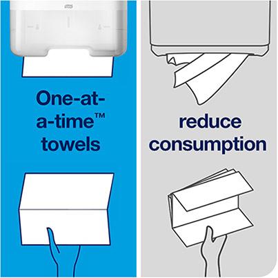 Tork Universal Hand Towels ZigZag Folds