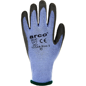 Arco Thermogrip Latex-Coated Gloves (Pack of 12 Pairs)
