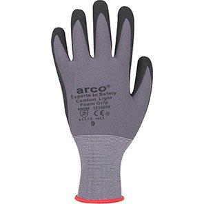 Arco Comfort Light Nitrile-Coated Grip Gloves
