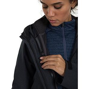 Berghaus Womens Elara Gemini 3in1 Jacket Primary Base Colour Black Secondary Base Colour N/A