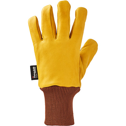 Pack 10 Arco Leather Insulated Gloves