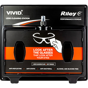 Riley VIVID Plastic Lens Cleaning Station