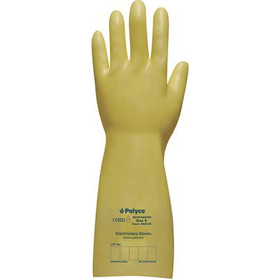 Polyco Electricians Glove Class 0 1000V Cream