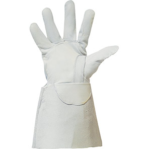 Polyco Leather Low Voltage Glove Protectors