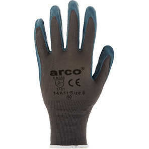 Arco Grip Light Nitrile-Coated Gloves (Pack of 12 Pairs)