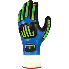 Showa 377 Impact Foam Nitrile Glove