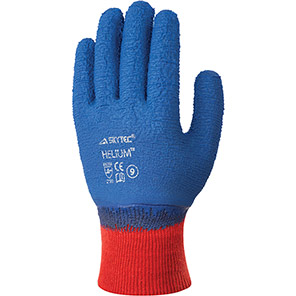 Skytech Helium Blue latex Glove