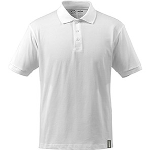 MASCOT Crossover Men's White Sustainable Polo Shirt