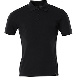 MASCOT Crossover Men's Black Sustainable Polo Shirt