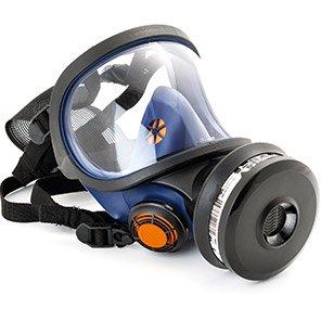 Sundström SR 200 PC Full-Face Respirator Mask with Polycarbonate Visor