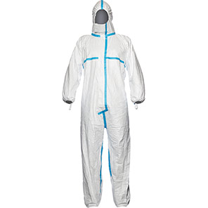 DuPont Tyvek 600 Plus White Chemical Coverall
