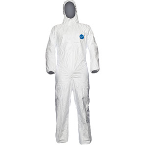 DuPont Tyvek 500 Xpert White Chemical Coverall