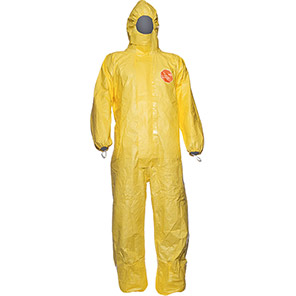 DuPont Tychem 2000 C CHA5 Yellow Chemical Coverall