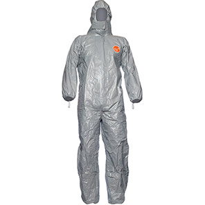 DuPont Tychem 6000 F CHA5 Grey Chemical Coverall