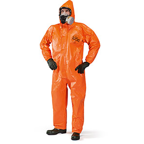 DuPont Tychem 6000 FR ThermoPro TP198 Orange Chemical Coverall