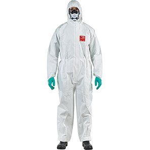 AlphaTec 2500 STANDARD Model 111 White Chemical Coverall