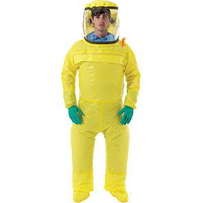 AlphaTec 3000 Model 700 Yellow PAPR Coverall (Box of 4)