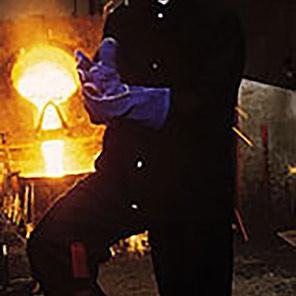 Arco Navy Metal-Splash Jacket