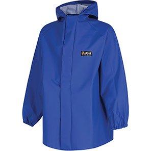 Alpha Solway Chemsol HG Lite Blue Hooded Chemical Jacket
