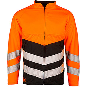 SIP Protection BasePro 1RI1 Orange Hi-Vis Chainsaw Jacket