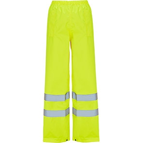 Arco Essentials Yellow Hi-Vis Overtrousers