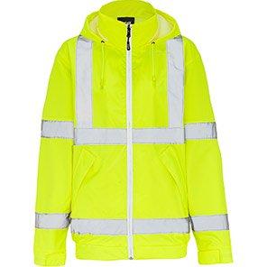 Arco Yellow Interactive Hi-Vis Bomber Jacket