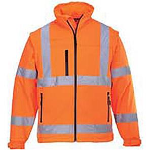 Portwest Classic Orange Hi-Vis Softshell Jacket