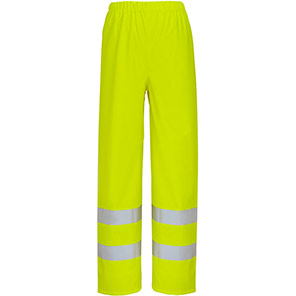 Arco Essentials Yellow PU Hi-Vis Overtrousers