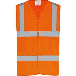 Arco Essentials Orange Hi-Vis Vest