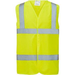Arco Essentials Yellow Hi-Vis Vest