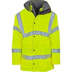 Arco Yellow 4-in-1 Hi-Vis Coat