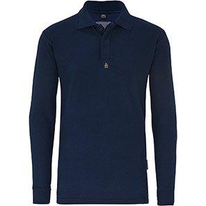 ArcoPro Navy Inherently Flame-Retardant Polo Shirt