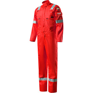 Roots Flamebuster 2 Nordic Red Flame-Retardant Overalls