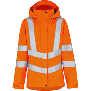 Arco Women's Orange Waterproof Hi-Vis Jacket
