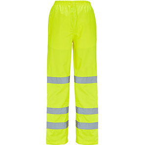 Arco Women's Yellow Hi-Vis Overtrousers