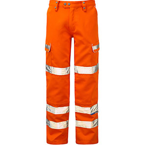 Pulsar PR336 Hi-Vis Combat Trousers Orange