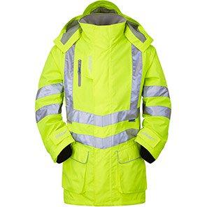 P421 Hi-Vis Unlined Coat Yel