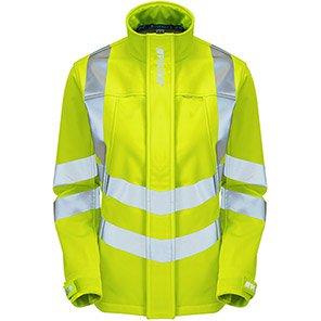 PULSAR P706 Women's Yellow Hi-Vis Softshell Jacket