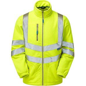 PULSAR P507 Yellow Hi-Vis Fleece Jacket
