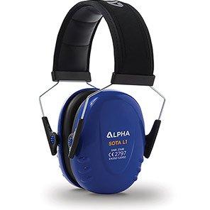 Alpha Solway SOTA L1 Blue Overhead Ear Defenders (Box of 20)
