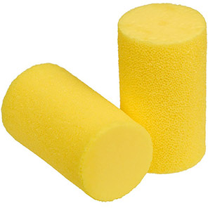 3M E-A-R Classic Disposable Earplugs (Pack of Five Pairs)