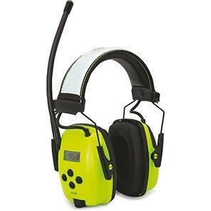Honeywell Howard Leight Sync Hi-Vis AM/FM Radio Ear Defenders