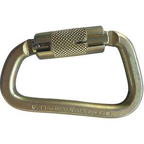 MSA 25mm Steel Auto-Lock Carabiner