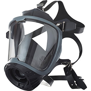 MSA G1 Full-Face Breathing Apparatus Mask with Rubber Harness