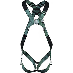 MSA V-Form Two-Point Safety Harness with Bayonet Buckles