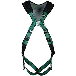 MSA V-FORM+ Padded Two-Point Safety Harness with Bayonet Buckles