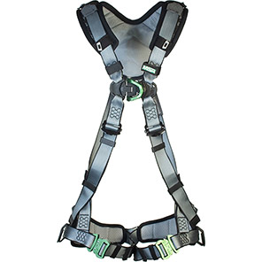 MSA V-FIT Padded Two-Point Safety Harness