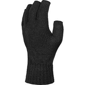 Regatta Black Fingerless Gloves