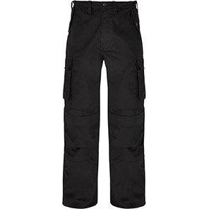 Trojan Combat Trouser with Kneepad Pocket Black