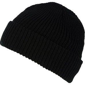 Regatta Black Acrylic Beanie Hat
